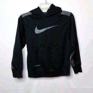 Boys Nike therma-fit hooded sweatshirt hoodie Med